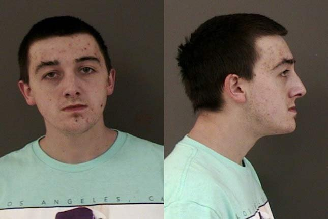Shane Thomas Becktold, jail booking photo