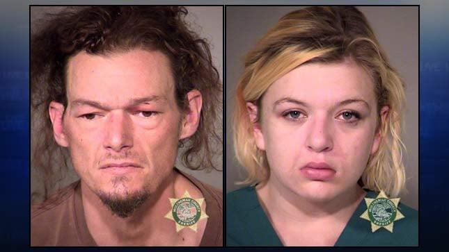 Travis Dana Peterson, Tiffany Nicole Buie (jail booking photos)
