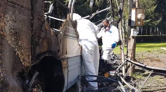 Detectives with the Marion County Sheriff's Office are being assisted by special investigators with the Oregon State Police and the State Fire Marshal's Office.