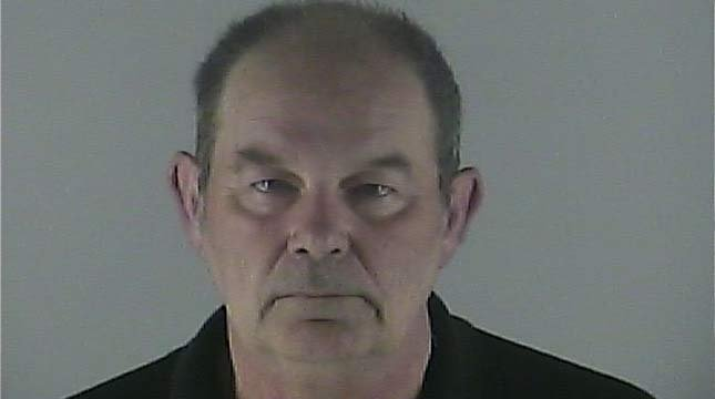 Bruce Hoover, jail booking photo