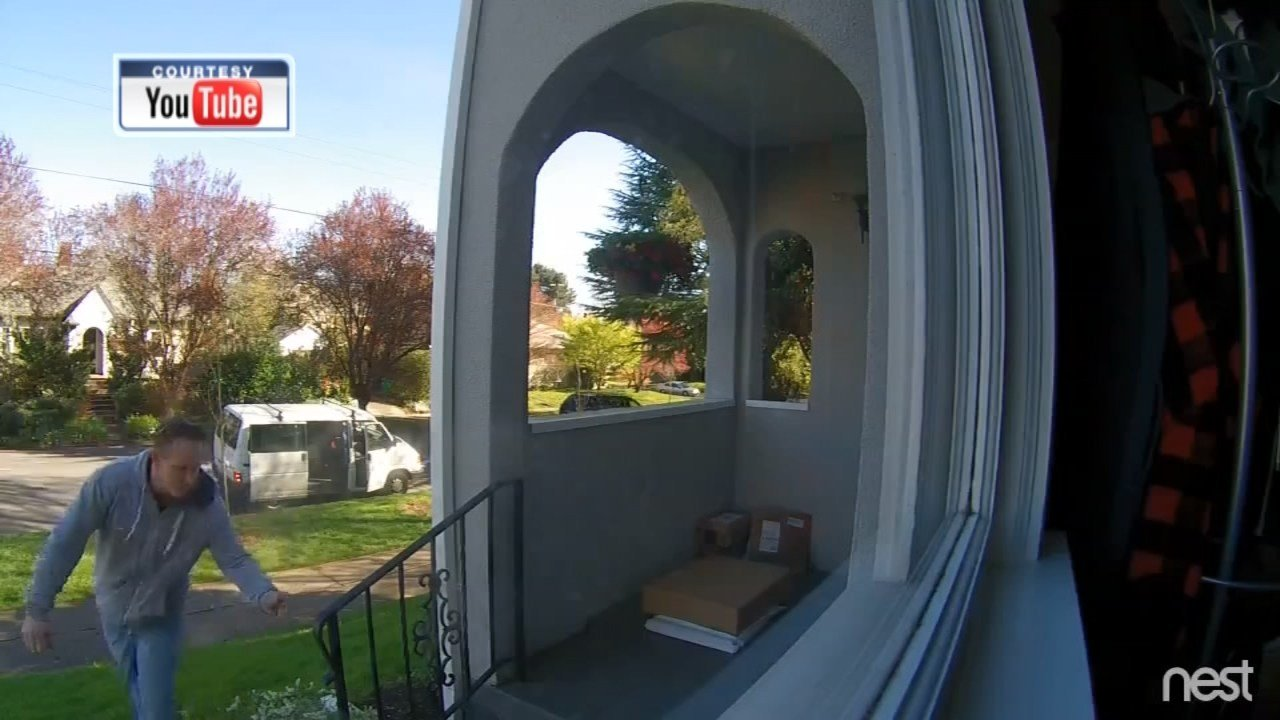 Thief caught on camera stealing package off porch in ne - Camera world portland ...