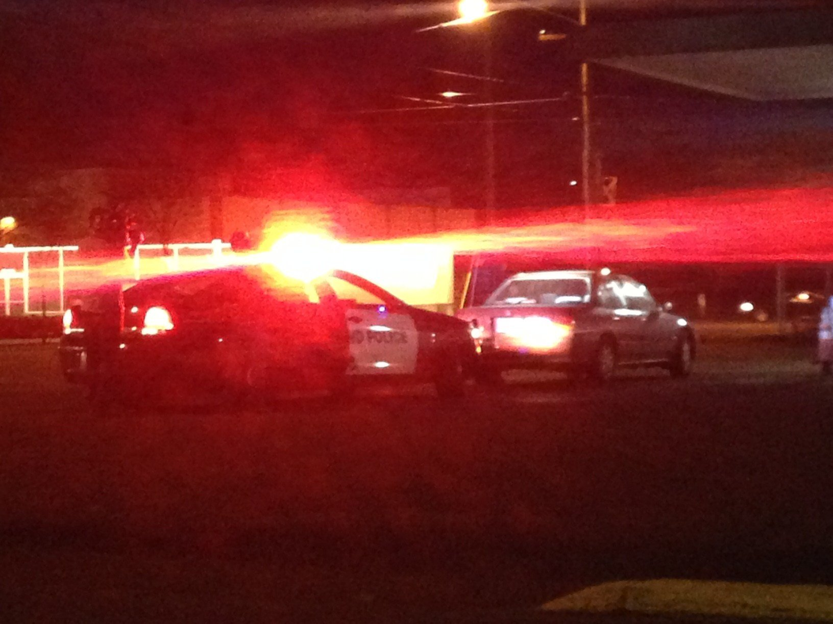 A car pulled over in SE Portland during PPB's specialized patrols Friday.