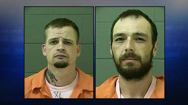 Cody Plagmann, Justin Samora, jail booking photo