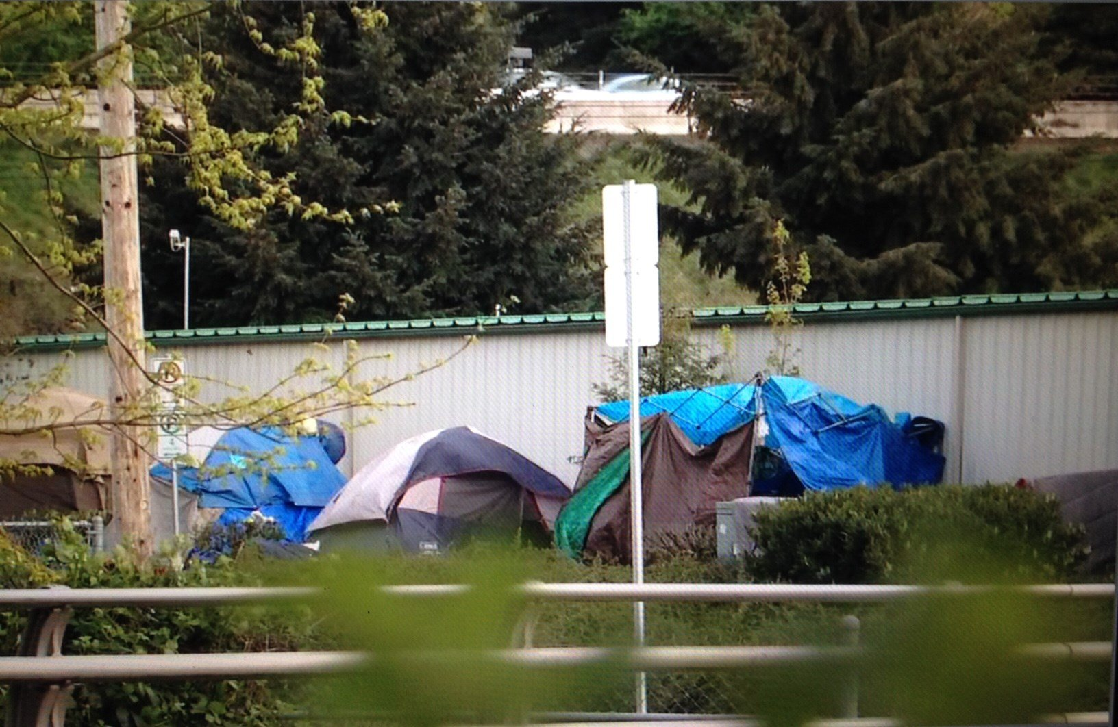 The camp near SE 92nd and Flavel.