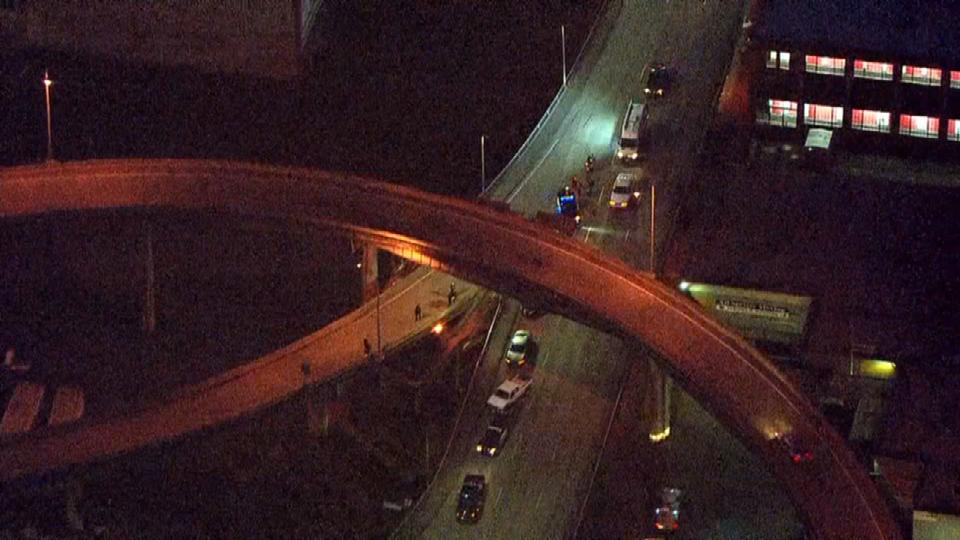 AIR 12 over Morrison Bridge ramp closure