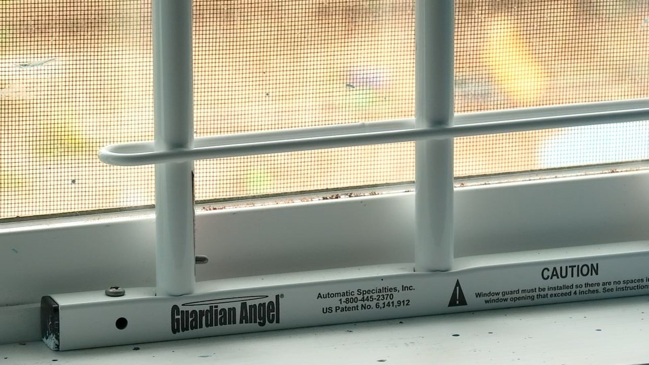 Window guard used to prevent children or pets from falling out a window. (KPTV)