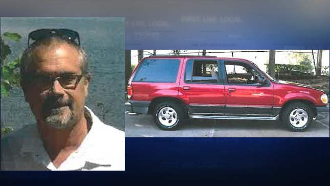 Curt Braun and a similar 2000 Ford Explorer. (Images: Benton County Sheriff's Office)