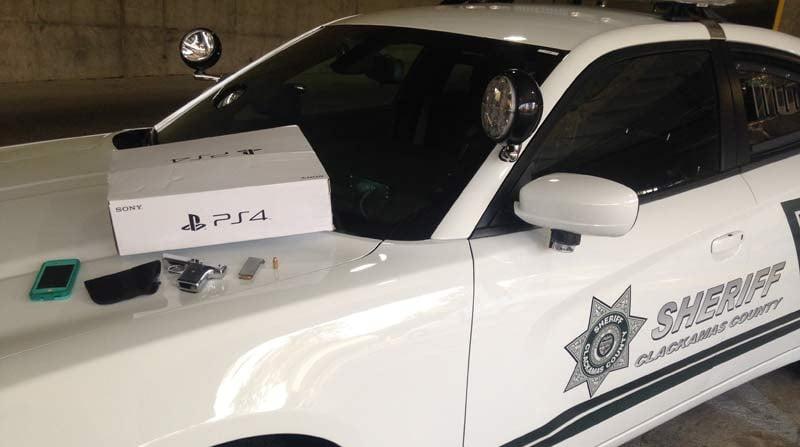 Evidence photo: Clackamas County Sheriff's Office