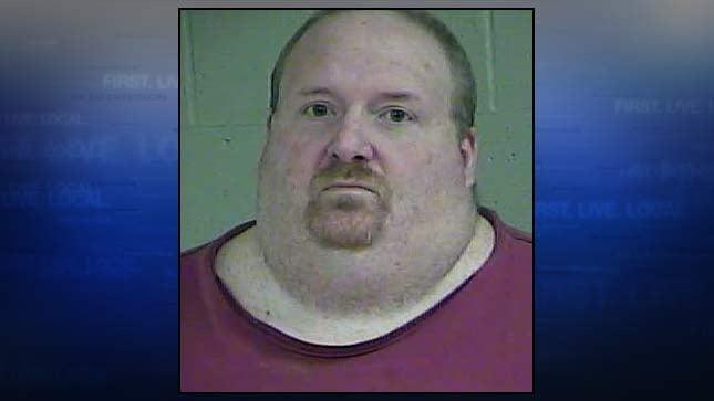 Kevin Hawkins, jail booking photo