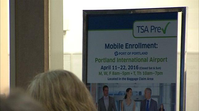 The TSA Pre-Check Program is open to low-risk passengers.
