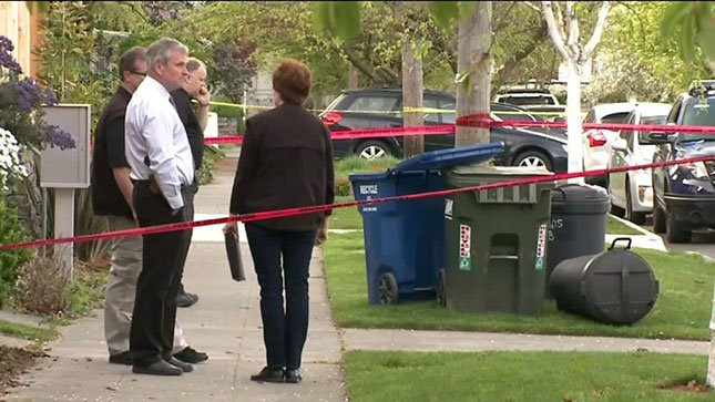 Seattle police believe three body parts found in a recycling bin belong to a woman who was reported missing Saturday morning.