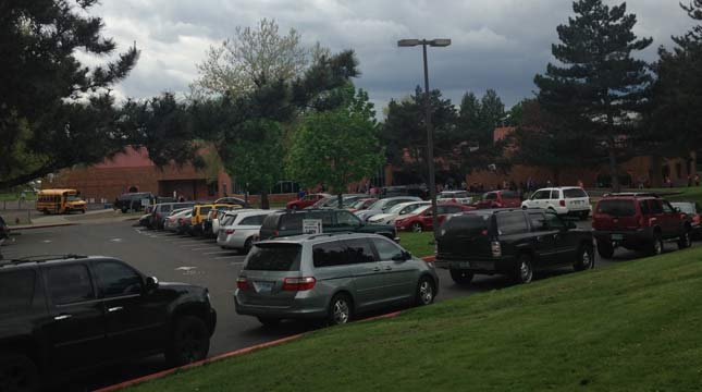 Hollydale Elementary School in Gresham. (Source: KPTV)