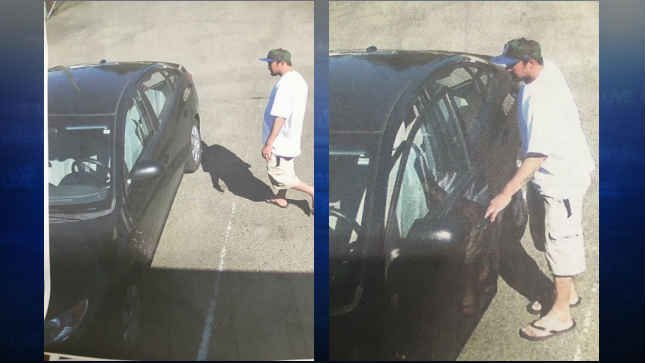 Surveillance images of the suspect (Photos: Bill Robbins)