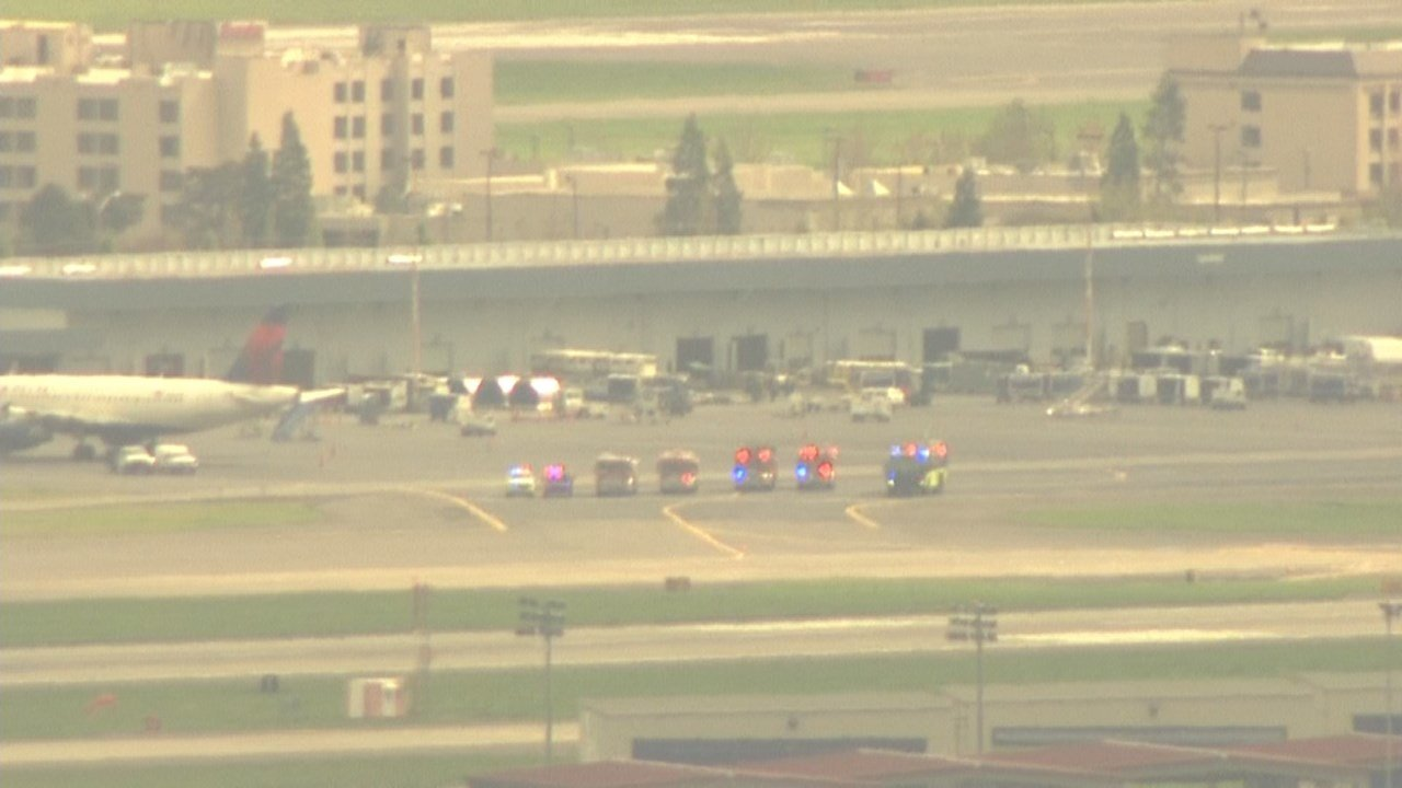 An Alaska Airlines flight was forced to make an emergency landing at PDX on Wednesday after losing pressurization. (Air 12 image)