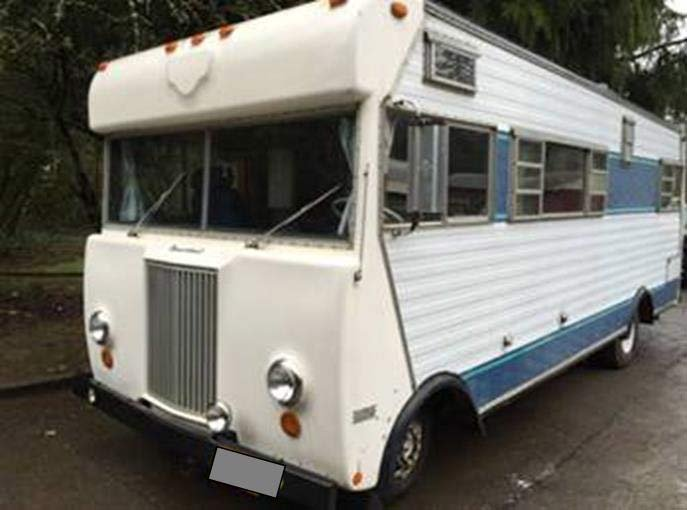Motorhome sought in Battle Ground hit-and-run case pictured in a Craigslist ad for sale in March. (Photo: Battle Ground Police Department)
