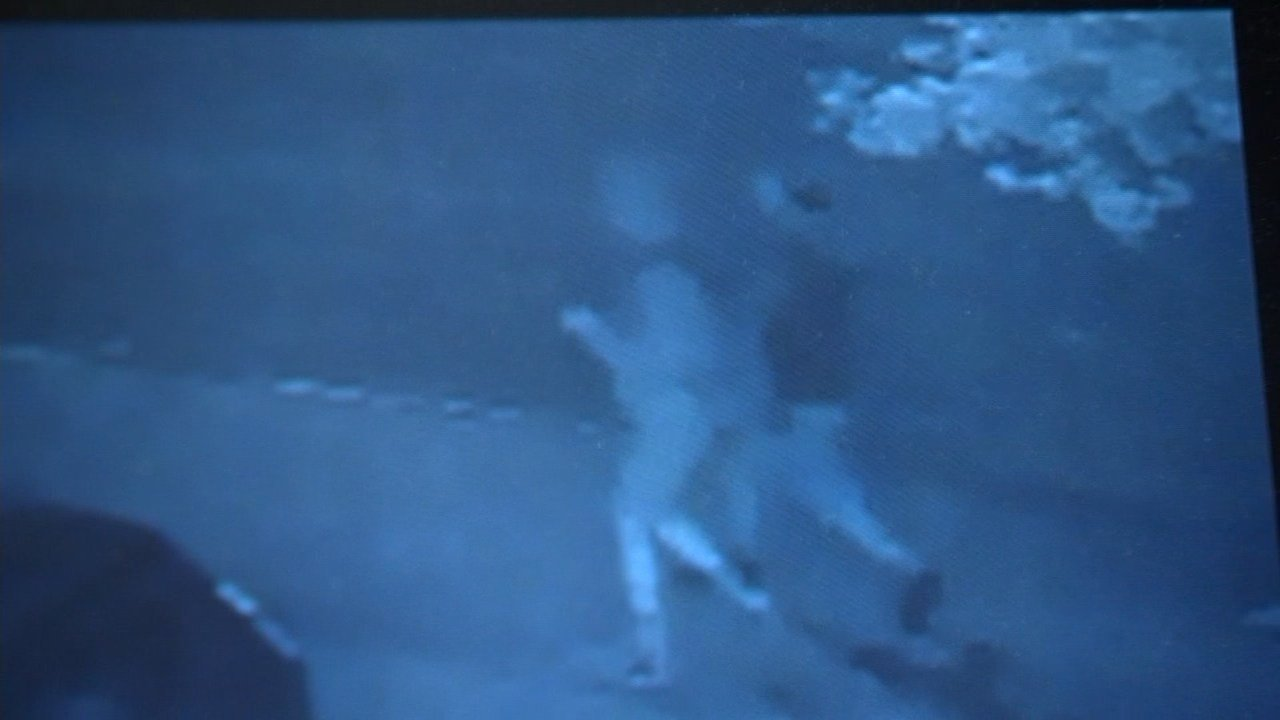 Investigators say surveillance video showing two persons of interest is one of their best leads so far finding those behind the Imagination Station playground fire. (KPTV)