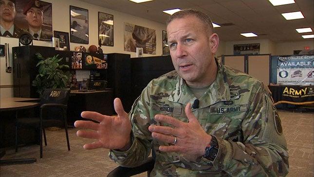 Army Maj. Gen. Jeff Snow