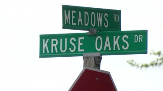 Police responded to the robbery report Thursday afternoon on Meadows Road and Kruse Oaks Drive. (Source: KPTV)