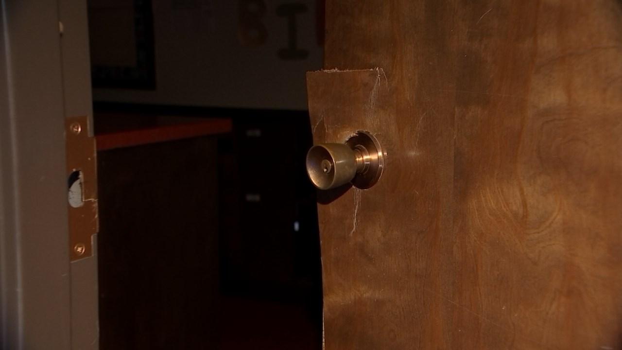Damage at Family Worship Center in Gresham. (Source: KPTV)