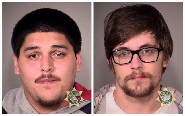 Christian Tarasov, Ethan Hibbard, jail booking photos