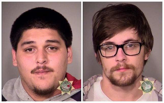 Christian Tarasov, Ethan Hibbard, jail booking photos