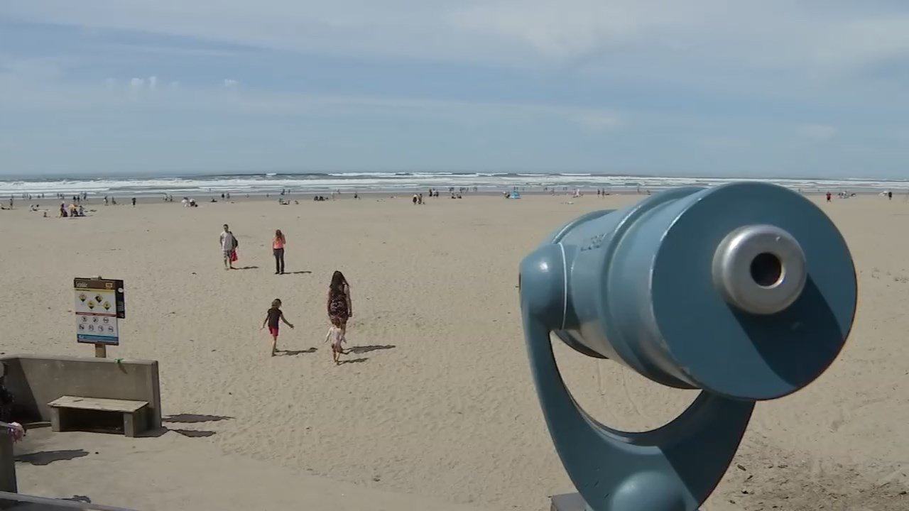 Sunny Seaside Oregon (Source: KPTV)