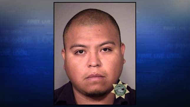 Hugo Lopez-Aguilar, jail booking photo