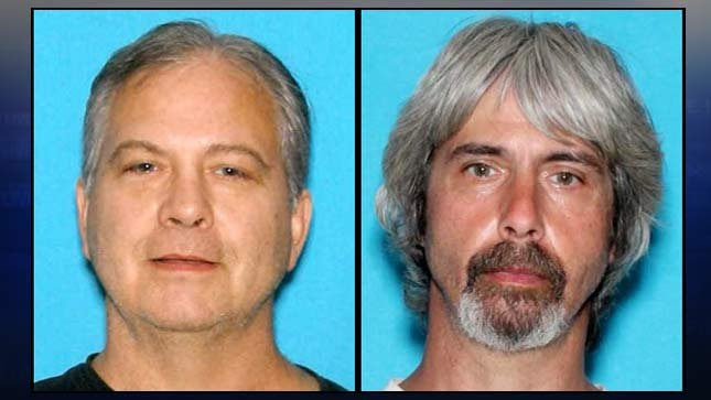 Wanted Washington murder suspects John Reed and Tony Reed.