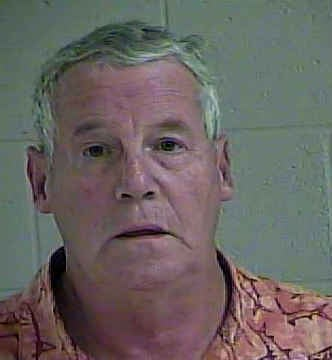 Raymond Pohl, jail booking photo