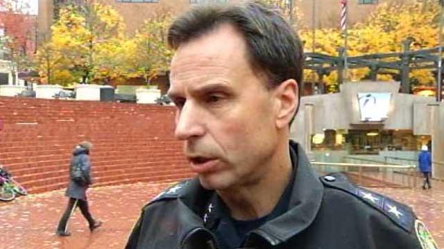 Former Portland Police Bureau Chief Mike Reese. (KPTV file image)