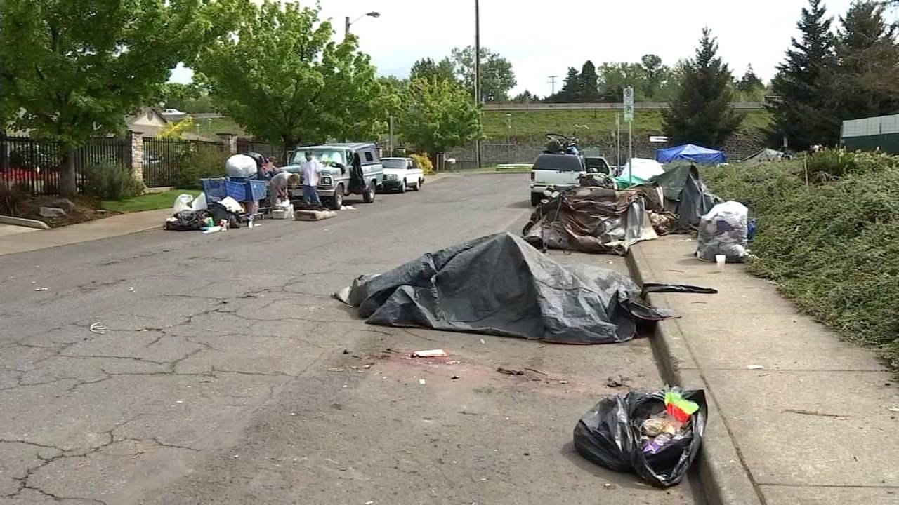 SE Portland homeless camp (Source: KPTV)