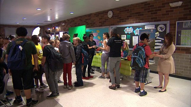 Five parties at schools hosted by Youth Now were held to raise awareness about the negative effects of pot smoking before reaching the legal age of 21.