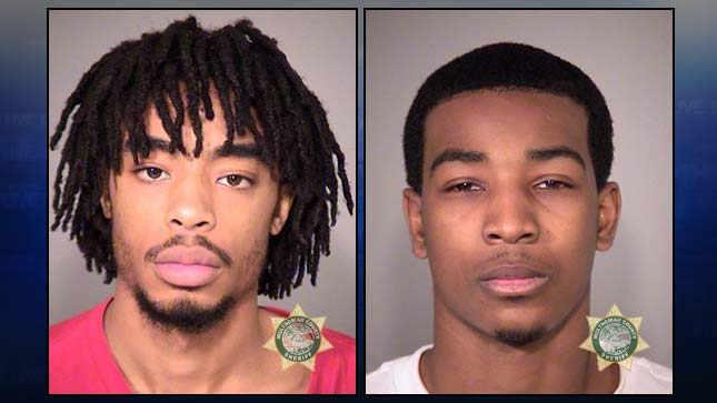 Anthony Gray, Adriantae Stafford, jail booking photos