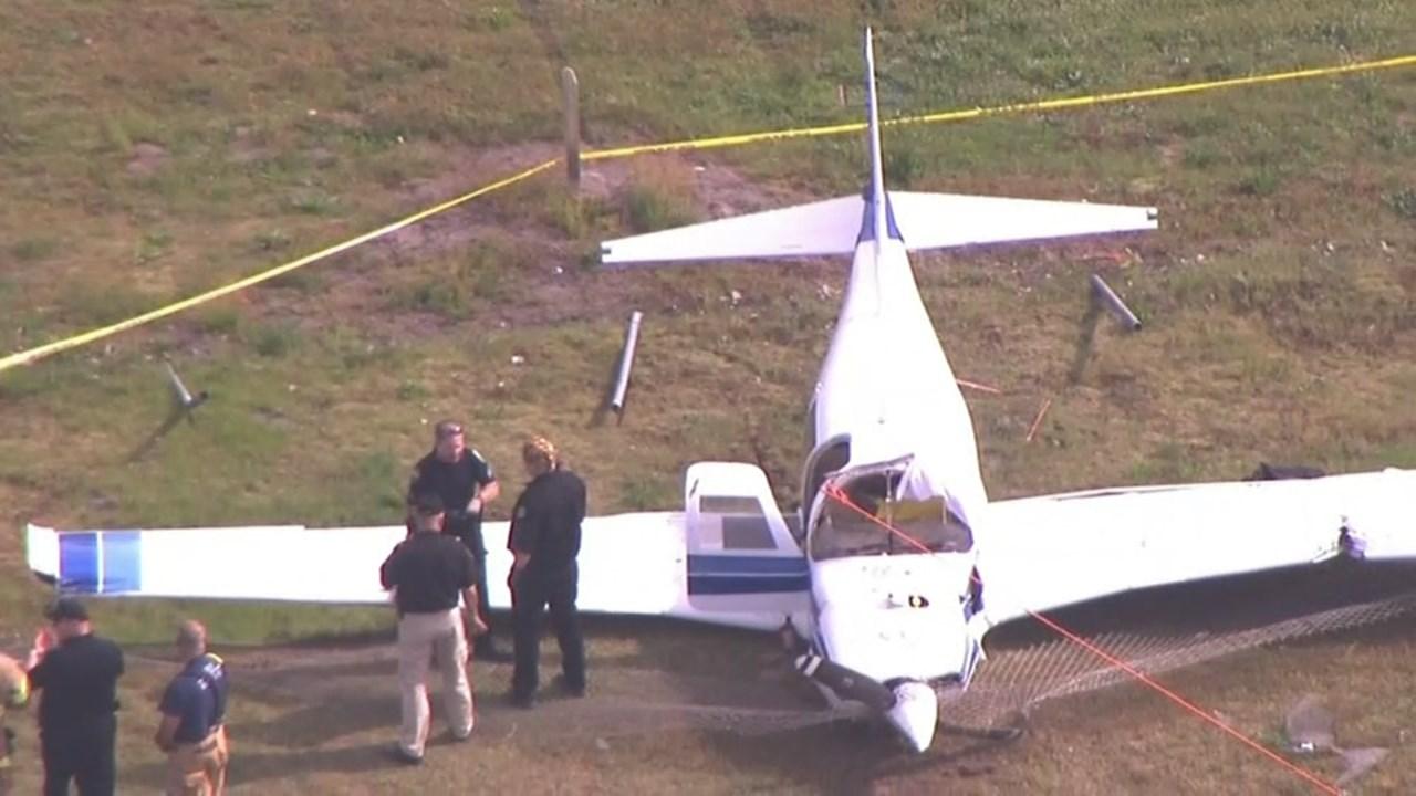 Deadly plane crash in Woodland on Thursday. (Source: KPTV)