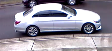 Suspect's car (Courtesy: CCSO)