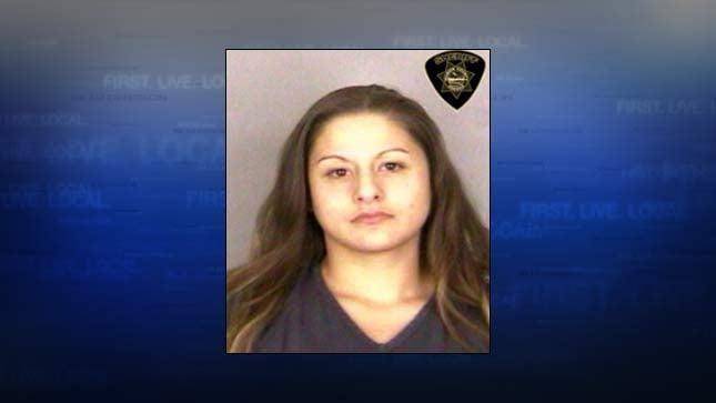 Cruzita McCartney, jail booking photo
