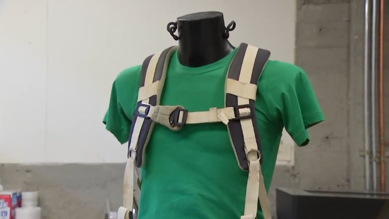 Glenn Harness made by Terrazign in Portland. (Source: KPTV)