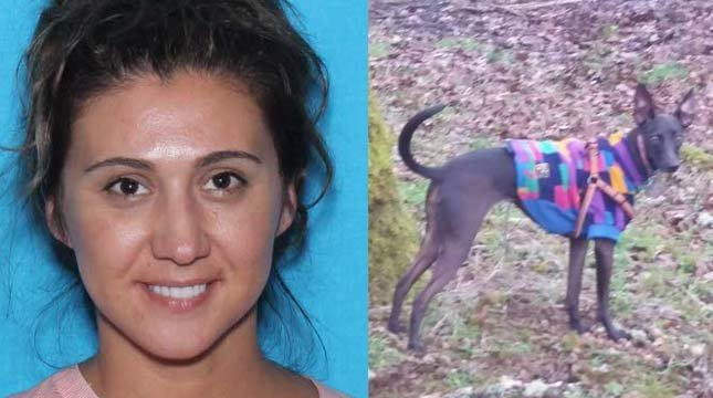 Police are searching for Rose Mary Skoda-Kempton, also known as Brooke Kempton, and a whippet she is accused of taking named Isis. (Photo: Marion Co. Sheriff's Office)