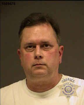 James Gialloreto, jail booking photo