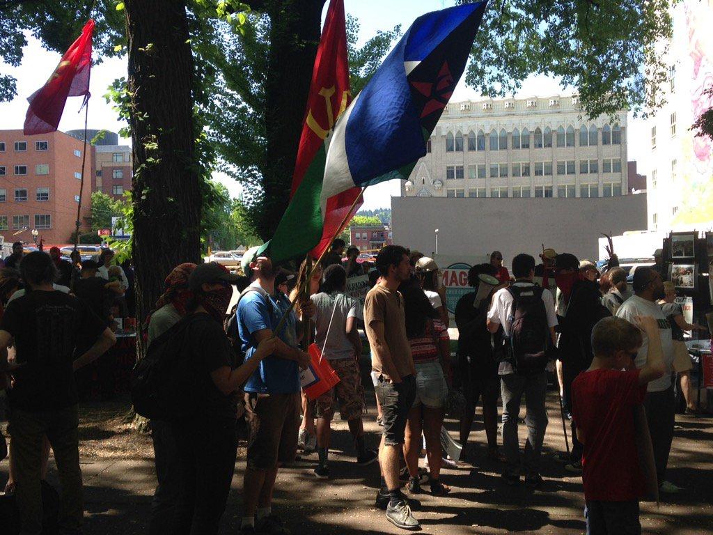 May Day rally (Courtesy: Simon Gutierrez)