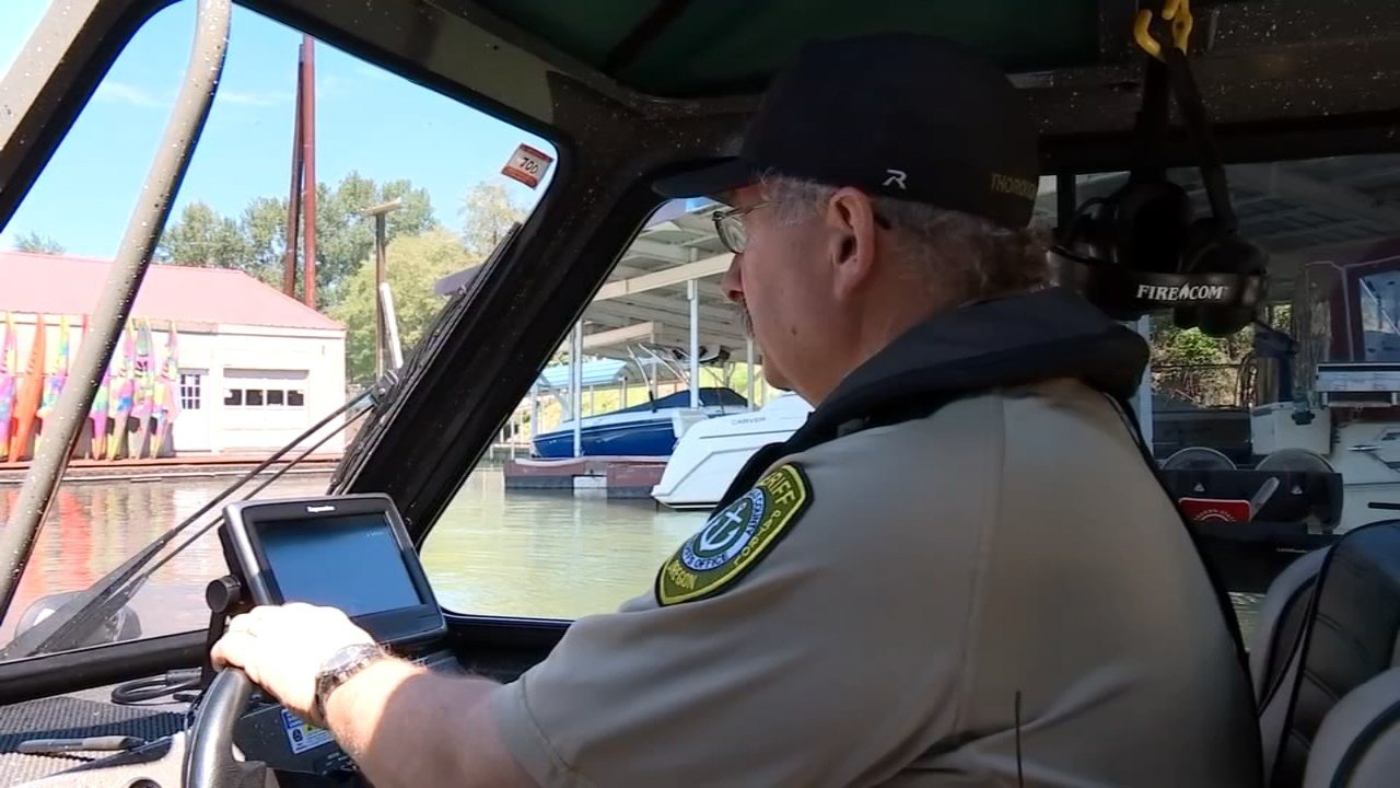 Crews with the Clackamas County Sheriff's Office Marine Patrol said they will be looking closely this summer for anyone using marijuana while boating. (KPTV)
