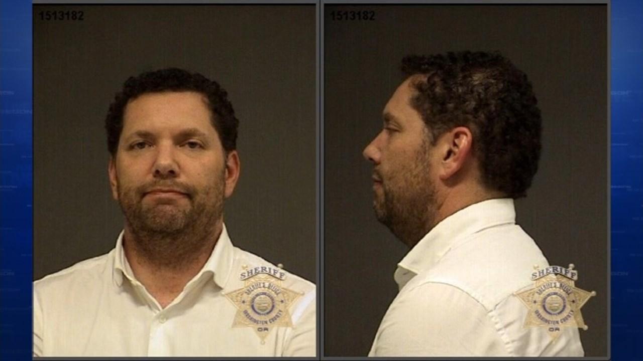 Paul Jackson, jail booking photo (KPTV)