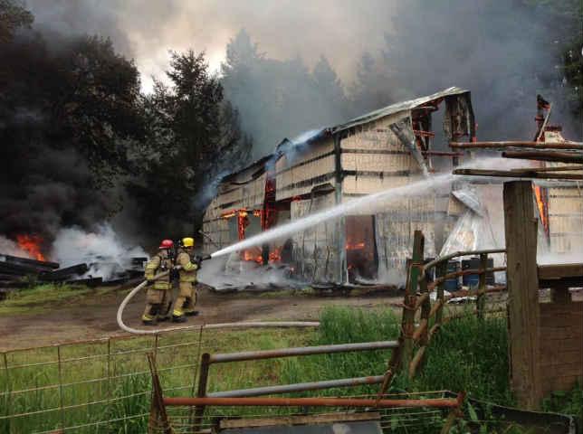 (Courtesy: Gaston Rural Fire District)