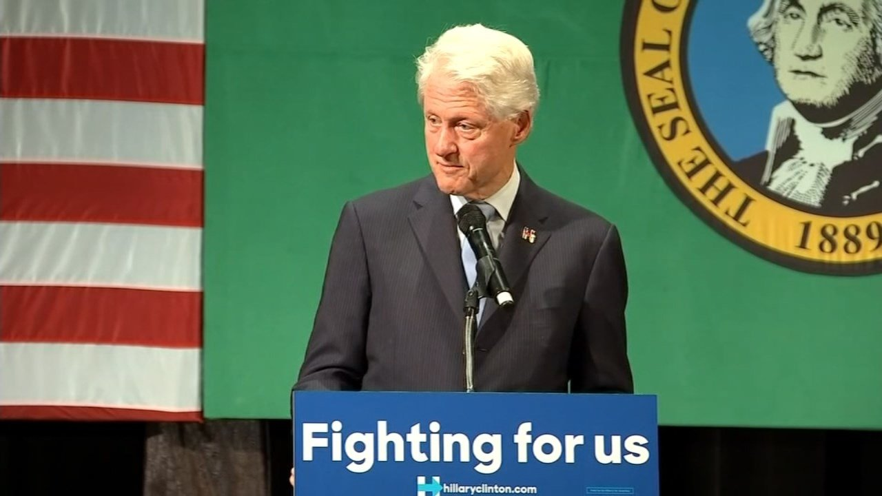 Former President Bill Clinton (KPTV file image)