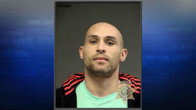 Orlando Pouncey, jail booking photo