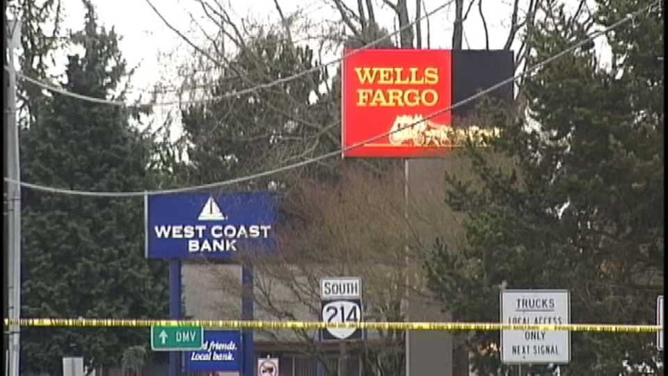 The West Coast Bank where Bruce and Joshua Turnidge were convicted of planting a bomb in 2008