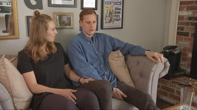Newlyweds Jordan and Lindsay Gregg were international basketball stars until a diagnosis of ARVD for Jordan changed their lives. (KPTV)