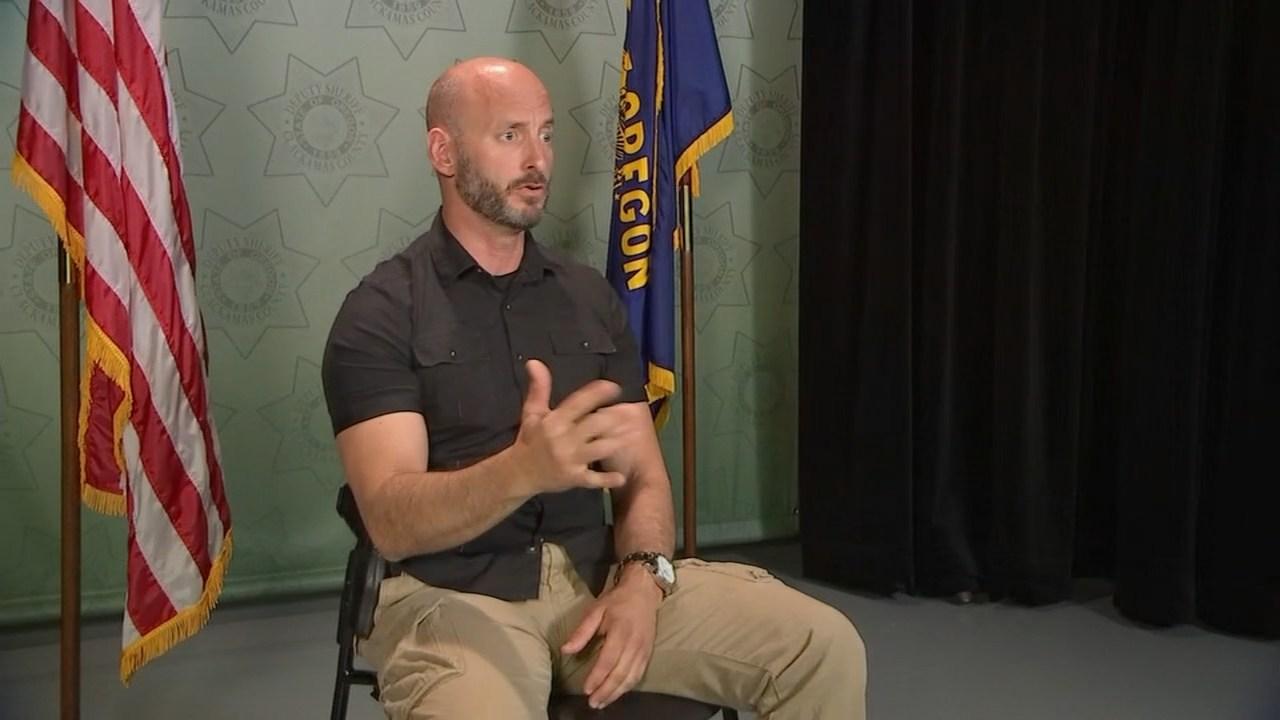 Clackamas County Deputy Robert Nashif
