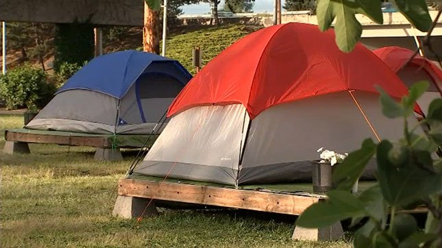 Organizers of a new homeless camp in Portland's Lents neighborhood say it will serve victims of sexual abuse on the streets. (KPTV)