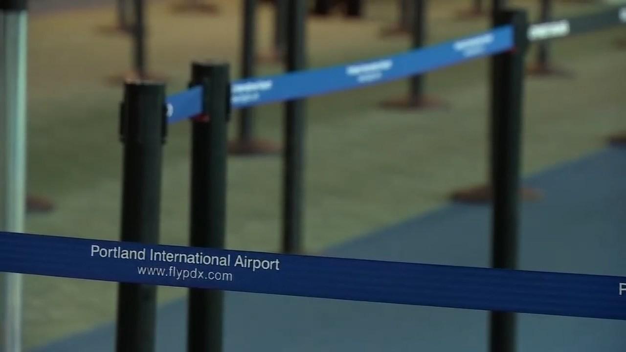 Portland International Airport (KPTV file image)
